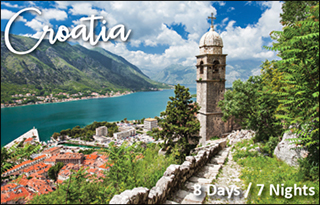 trip giveaway to croatia