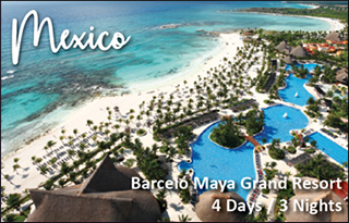 mexico all inclusive resort trip giveaway