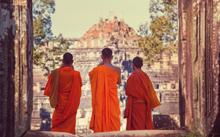 Cambodia monks